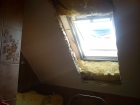 Nechanice okna Velux + ostění